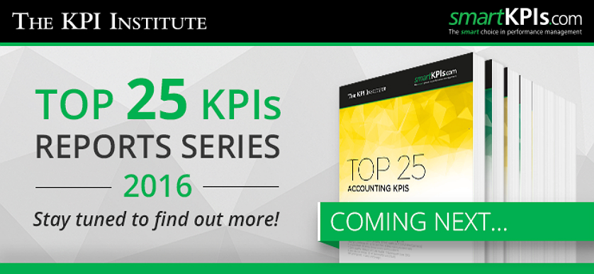 New Top 25 KPIs Reports Series – 2016 Extended Edition