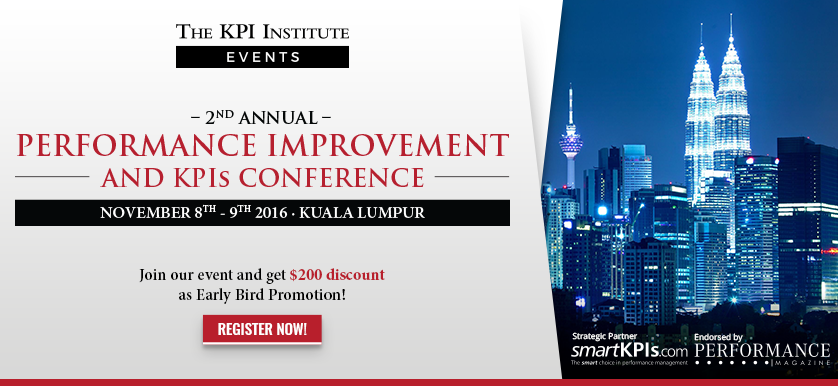 PERFORMANCE IMPROVEMENT AND KPIS CONFERENCE