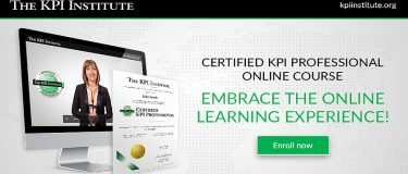 The Certified KPI Professional Course is Now Available Online