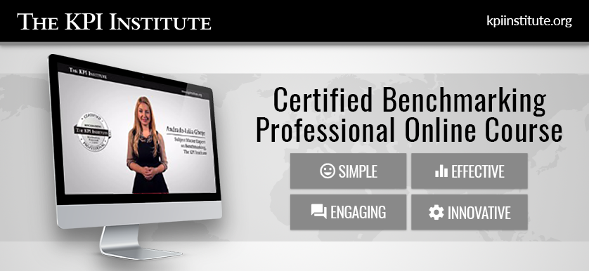 Certified Benchmarking Professional – Online Course