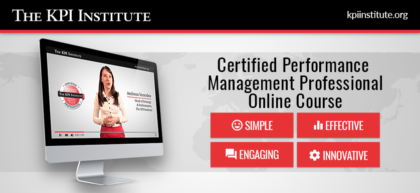 Certified Performance Management Professional – Online Course