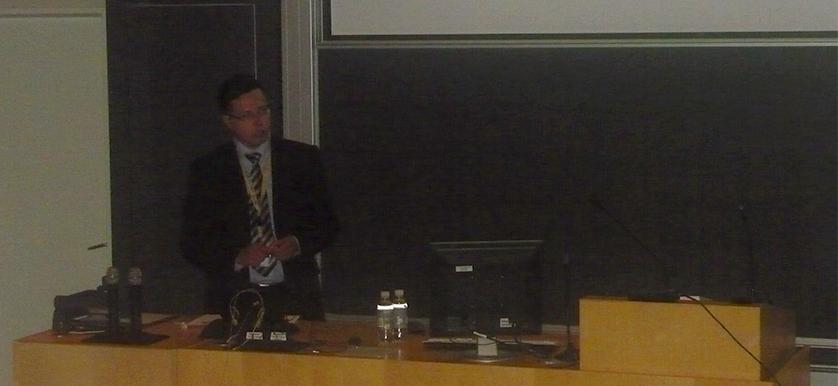 Aki Jääskeläinen and Juho-Matias Roitto at the PMA 2014 Conference