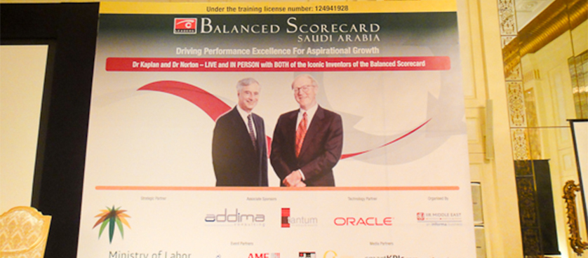 Balanced Scorecard Saudi Arabia 2011 – smartKPIs.com correspondence from Riyadh – Day 1 in pictures