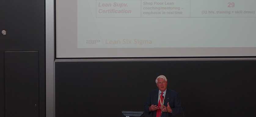 Charles Aubrey at PMA 2014 Conference