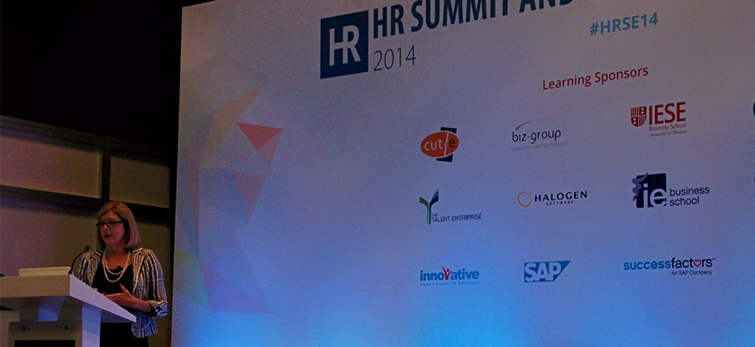 On brain science and gamification with Christine Tutssel at HR Summit and Expo 2014