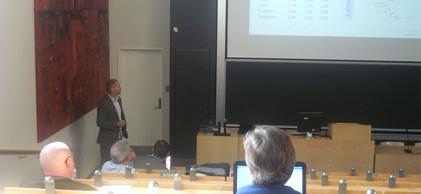 About the Circumplex Model of Affect with Dan Mønster, Jacob Eskildsen, Dorthe Døjbak Håkonsson, Børge Obel, Richard M. Burton and Linda Argote at the PMA 2014 Conference