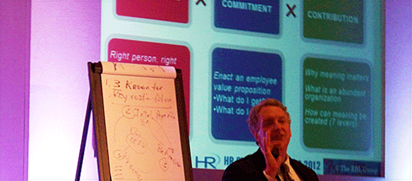 HR Summit and Expo 2012 – Dave Ulrich on HR Professionals as Architects