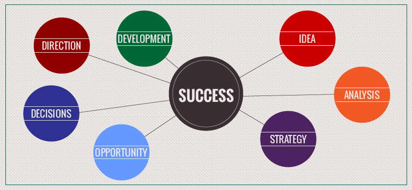 Success Strategy Direction Development