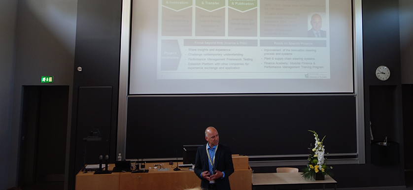 On Relative-Performance-Contracting with Franz Wirnsperger, at the PMA 2014 Conference
