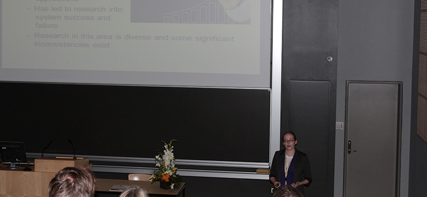 On factors affecting Performance measurement, with Heather Keathley, Eileen Van Aken and Geert Letens at the PMA 2014 Conference