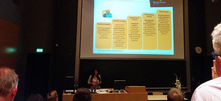 Sanna Pekkola 2014 PMA Conference