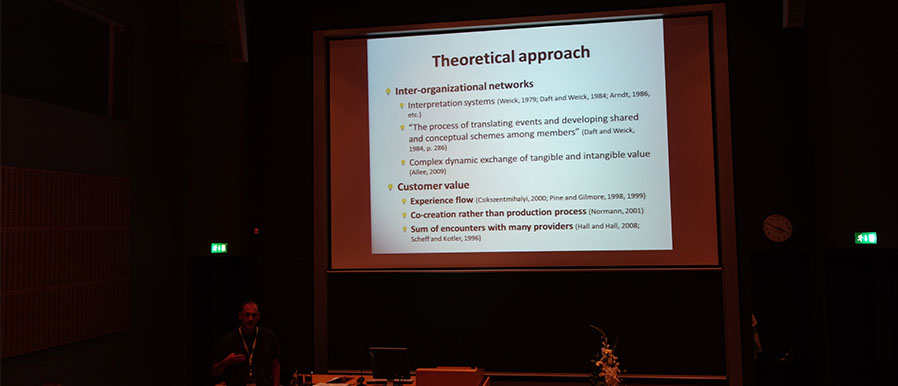Inter-organisational Networks Management, from Jean-Paul Peronard, at the 2014 PMA Conference