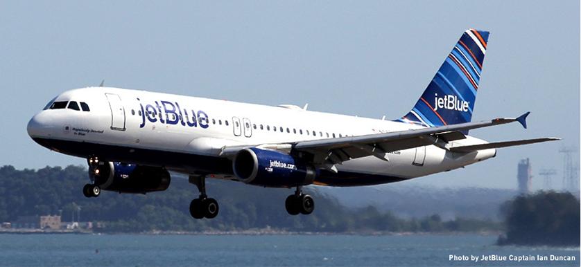 Operational performance JetBlue