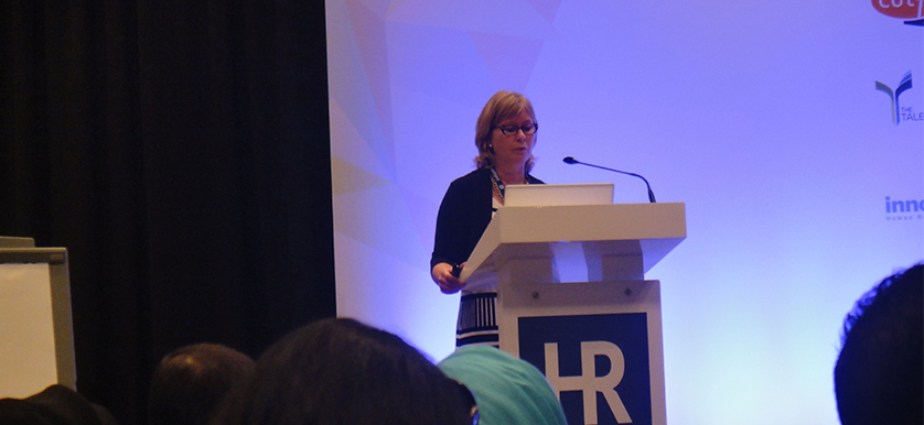 On employee capacity and engagement, with Karen Dobbie, at HR Summit and Expo 2014