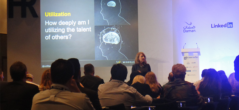 On engaging talent with Liz Wiseman at the HR Summit and Expo 2014