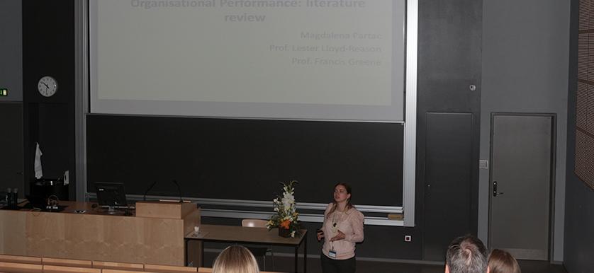 Magdalena Pârţac, Lester Lloyd-Reason and Francis Greene, at the PMA 2014 Conference