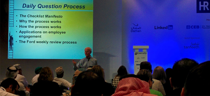 Marshall Goldsmith at HR Summit and Expo 2014