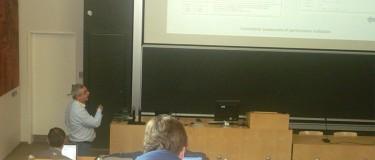 On uncertainty assessment with Marcello Cavallare, Sergio Sousa, Eusébio Nunes at the PMA 2014 Conference