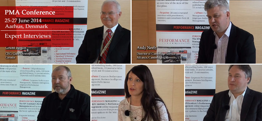 PMA 2014 Conference – Expert interviews