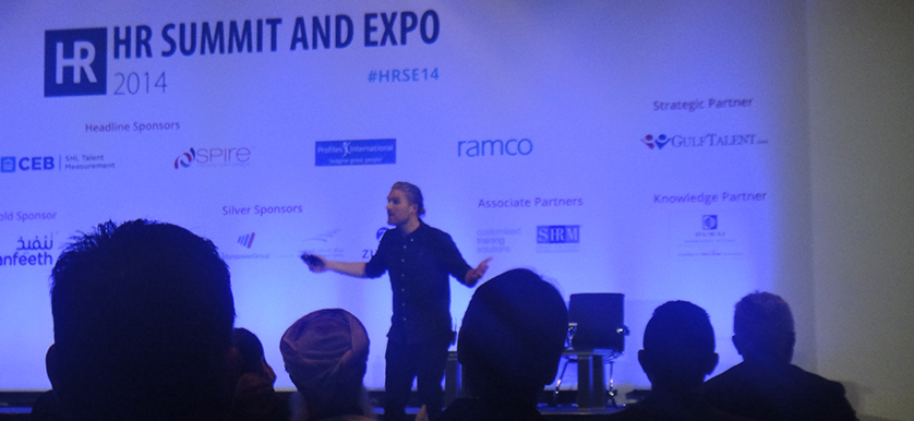 Rasmus Ankersen at the HR Summit and Expo 2014