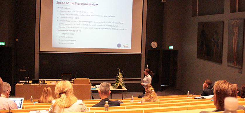 Sylvia Grewatsch and Ingo Kleindienst– PMA 2014 Conference