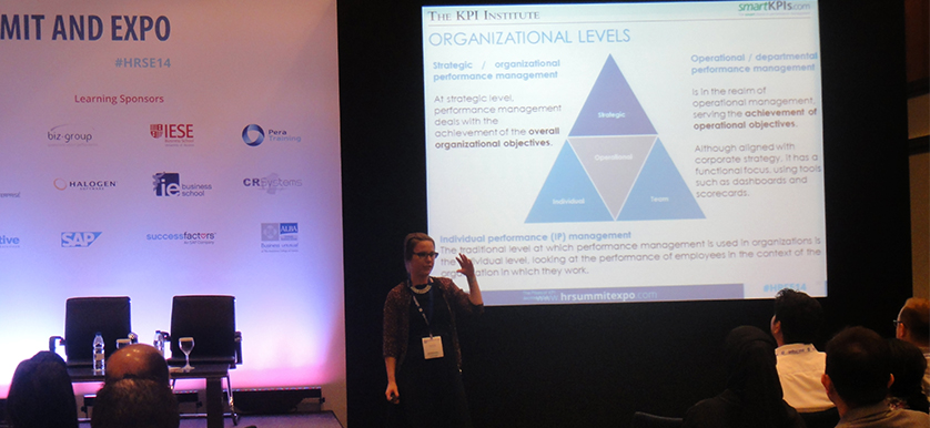 Teodora Gorski at HR Summit and Expo 2014