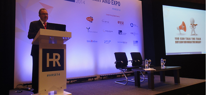 Tim Savage at HR Summit and Expo 2014