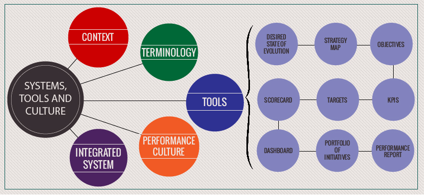 Performance systems, tools and culture