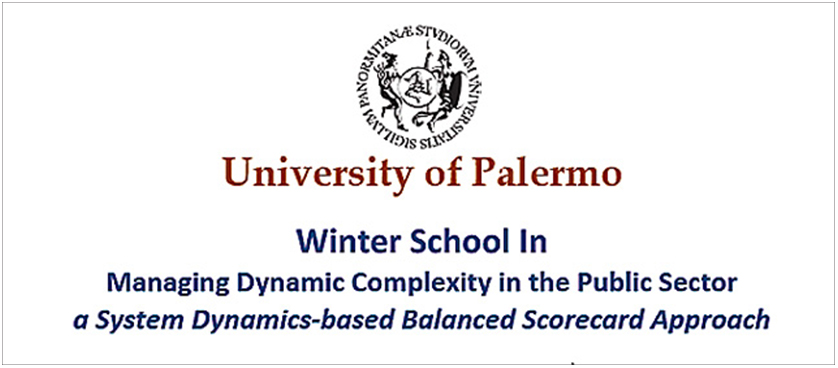 Winter School In Managing Dynamic Complexity in the Public Sector: a System Dynamics