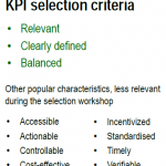 What techniques to use to select KPIs?
