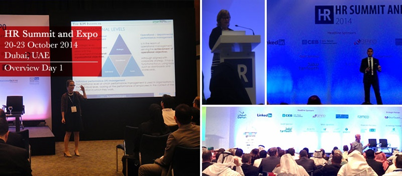 HR Summit and Expo 2014 – Overview Day 1