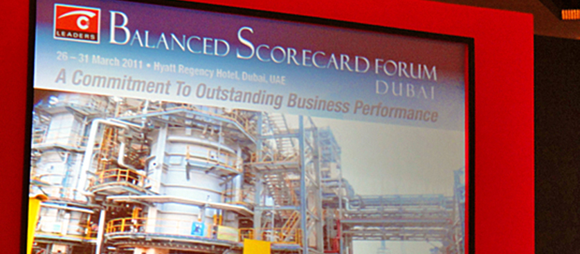 Balanced Scorecard Forum Dubai 2011 – smartKPIs.com correspondence – Day 4 in pictures
