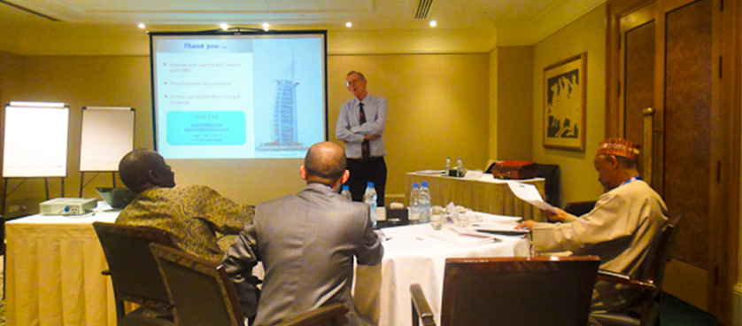 Using the Balanced Scorecard in SMEs – insights from the Balanced Scorecard Forum 2011 Dubai