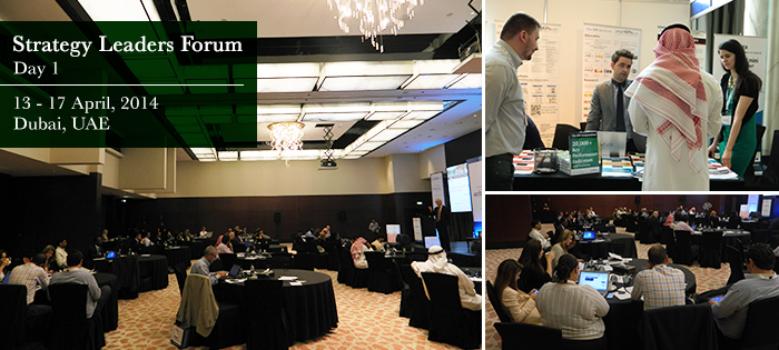Strategy Leaders Forum, Dubai, United Arab Emirates, Day 1