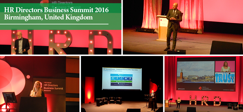 Fitting jobs to people, not people to jobs at the Annual HR Directors Business Summit 2016