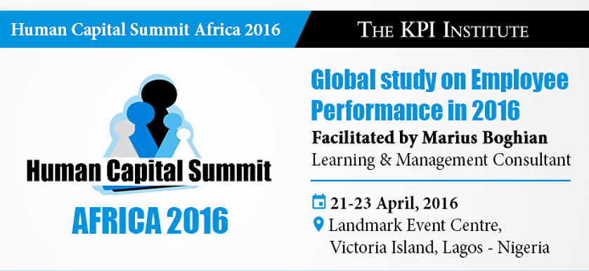 The KPI Institute at The Human Capital Summit Africa 2016