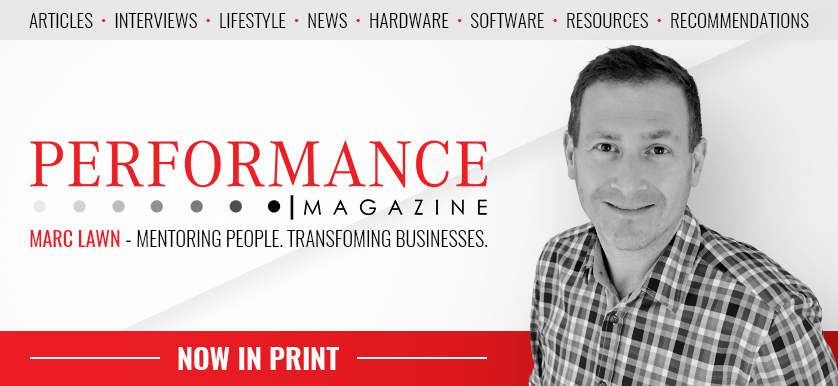 Our latest issue of Performance Magazine is out!