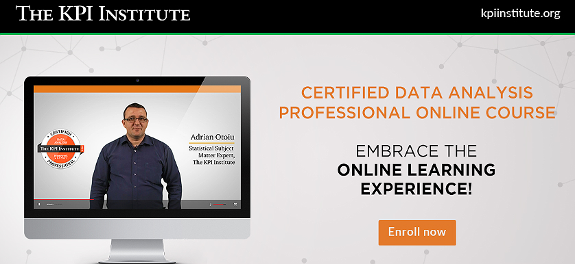 Certified Data Analysis Professional – Online Course