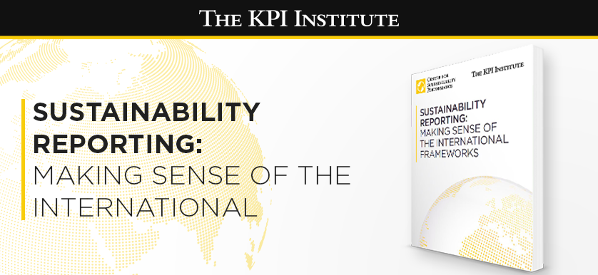 White Paper Release: Sustainability Reporting – Making sense of the international frameworks