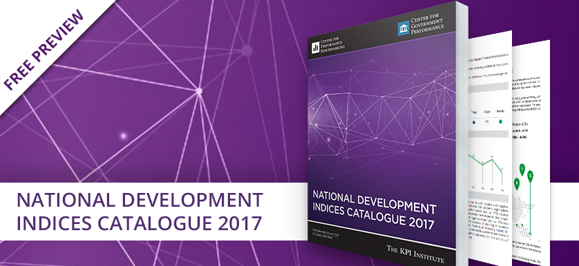 The National Development Indices Catalogue 2017 is out!