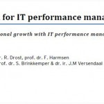 Example of IT Performance Management Research Report