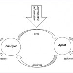 What does the agency theory refer to?