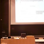 On managing universities' performance, with Ana I. Melo, Cláudia S. Sarrico, Zoe Radnor at the PMA 2014 Conference