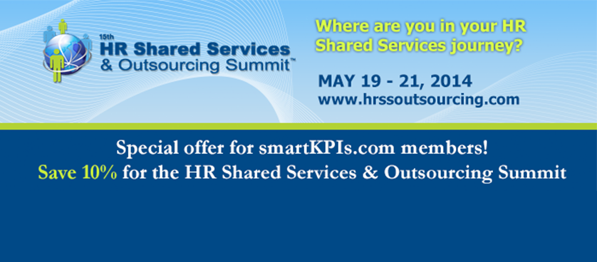 Save 10% – 15th HR Shared Services & Outsourcing Summit