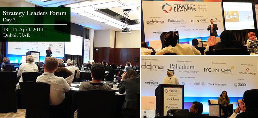Strategy Leaders Forum, Dubai, Day 3