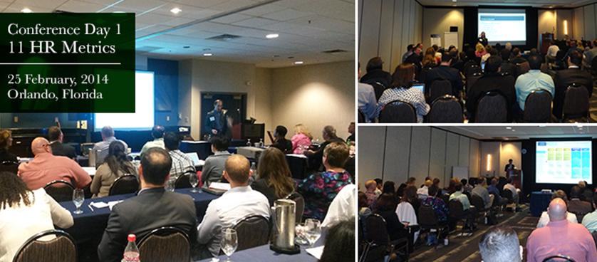 11th HR Metrics Summit 2014, USA – Day 1