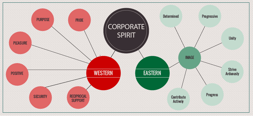 Performance Insights: From east to west – differences in organizational purposeful identity