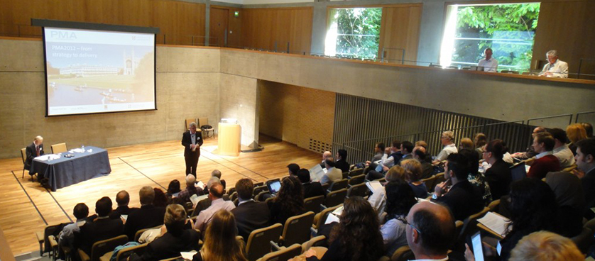 PMA 2012 Conference – University of Cambridge – UK – Day 2 in pictures