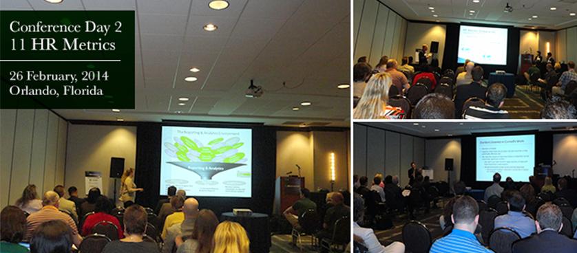 11th HR Metrics Summit 2014, USA – Day 2