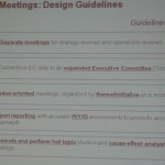 Strategy Review Meetings – Insights from Balanced Scorecard Forum 2011